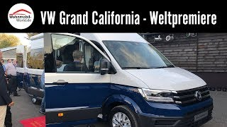 VW Grand California 600/680 2019 - Weltpremiere Caravan Salon 2018