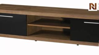 Nuevo Silva TV stand media unit walnut HGSD319