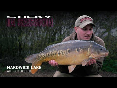 Hardwick lake – Rob's 11 fish haul using Manilla