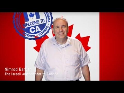 Meet Israel's New Ambassador To Canada, Nimrod Barkan