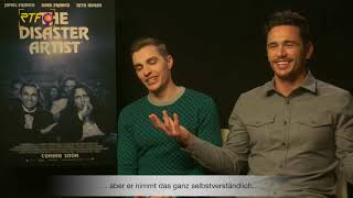 The Disaster Artist - Interview mit Dave Franco und James Franco