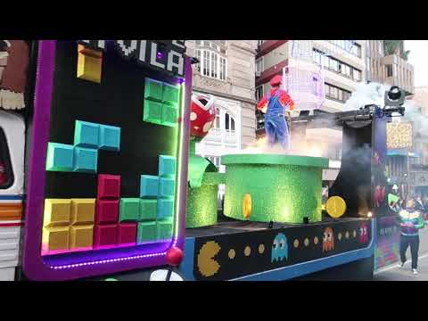 VIDEO: Desfile De Carnaval en Vigo 2019. Mejores momentos