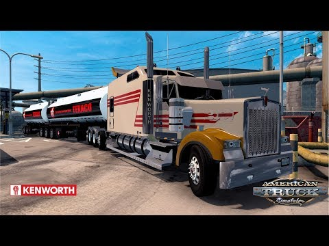 ATS 1.28 - Kenworth W900 Long Remix - Tucson to Oxnar