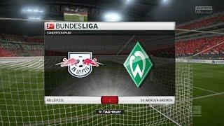 Fifa 17 #003- 8. Spieltag RB Leipzig gegen SV Werder Bremen [HD][PS4]