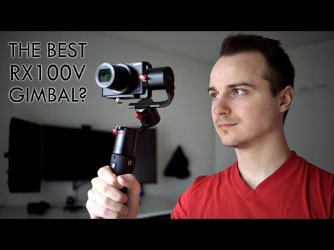 Pilotfly C45 Gimbal Unboxing and Test Footage (Sony RX100 V / RX100 VI) 4K