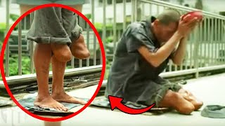 Fake Beggars Who Were Caught Red Handed
