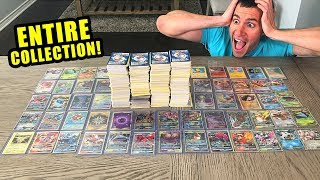 *THEIR ENTIRE POKEMON CARDS COLLECTION!* SECRET RARE and HYPER RARE CARDS! Mystery Box Opening