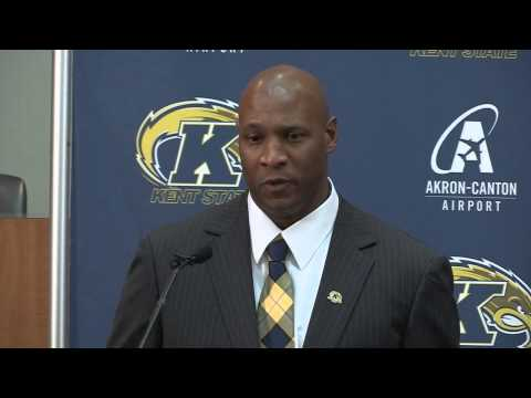 Kent State Introduces Paul Haynes as Head Football Coach