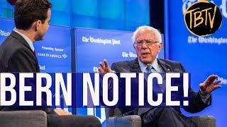 BREAKING: BERNIE SANDERS PUTS THE COMPETITION ON NOTICE Sen. Bernie Sanders sits down for a Washington Post interview pulling no punches an unusually blunt and politically INCORRECT Bernie Sanders emerges ..., From YouTubeVideos