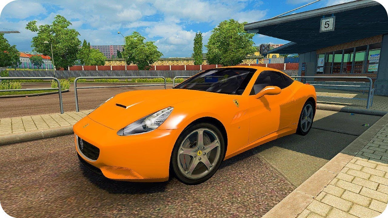 Ferrari California Ets2 Euro Truck Simulator 2 Youtube