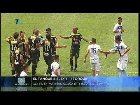Especial - Fecha 11 - El Tanque Sisley 1:1 Torque
