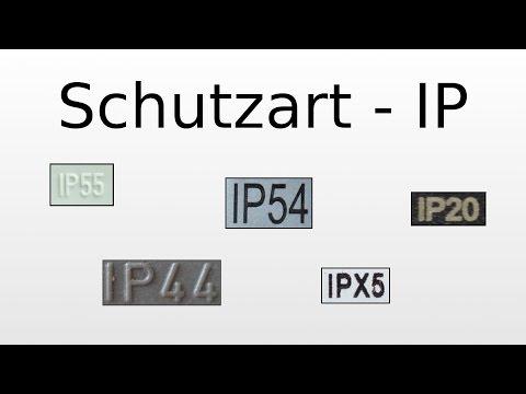 IP-Code (Schutzart) - Bedeutung der Ziffern (z.B. IP45)
