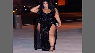 Plus Size Stylish Prom and Maxi Dresses For Christmas Women's Clothing Ideas