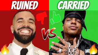 Rap Songs RUINED By The Feature vs CARRIED By The Feature! (UPDATED)