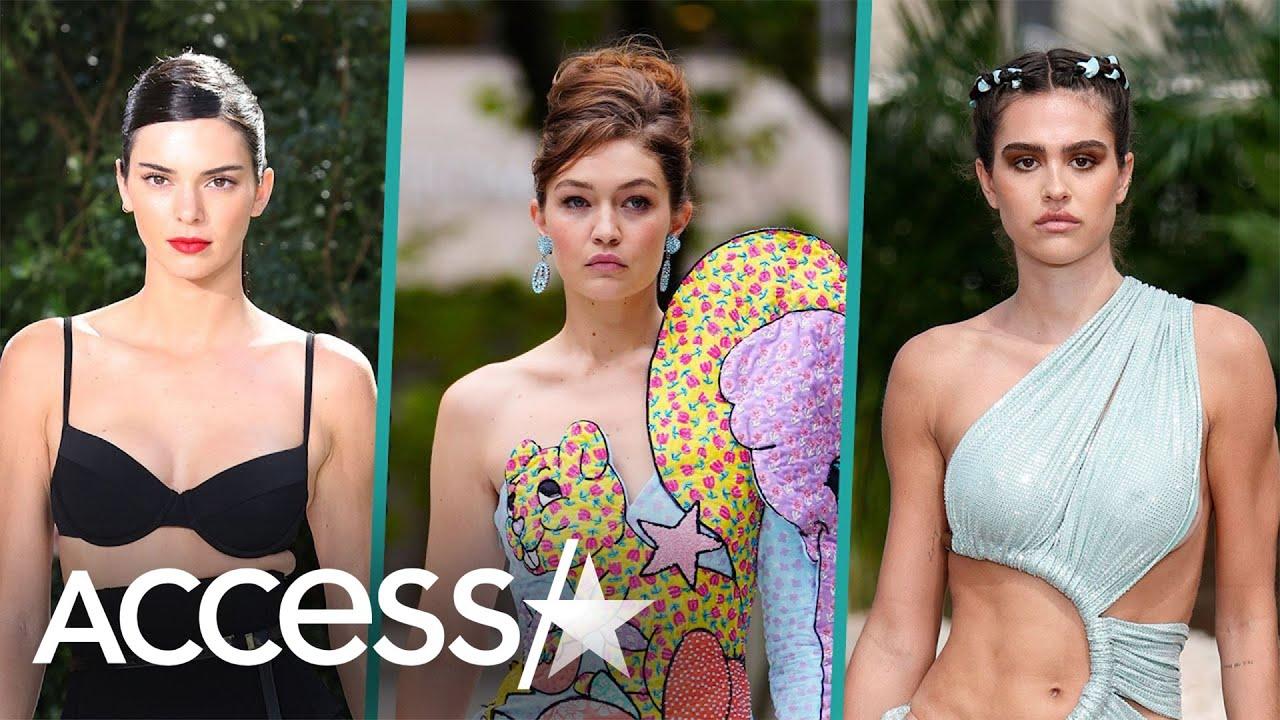Gigi Hadid, Kendall Jenner & More Fierce Fashion at New York Fashion Week