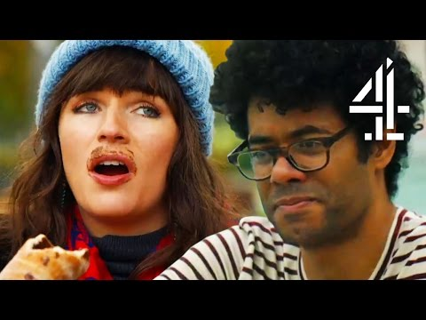 Richard Ayoade Won't Go Topless in Budapest Public Bath | Travel Man: 48 Hours in...