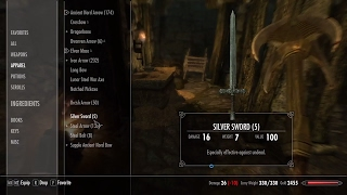 Skyrim - Where to find silver swords (PS4, Xbox One, PC)