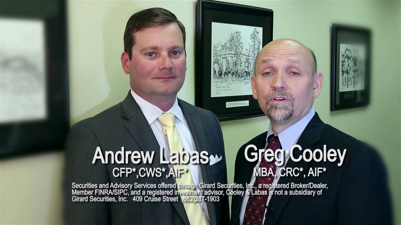 Sandy & Sue for Cooley Labas Financial Advisors by Bluwave Producer Shawn  Sykes