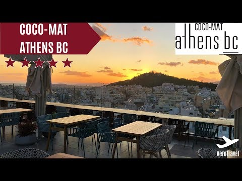 COCO-MAT Athens BC HOTELREPORT | ACROPOLIS VIEW ROOM UPGRADE | 5 STAR Boutique Hotel | ULTRA HD