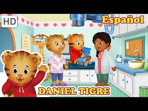 Daniel Tigre en Español - Ir al Doctor Puede ser Divertido