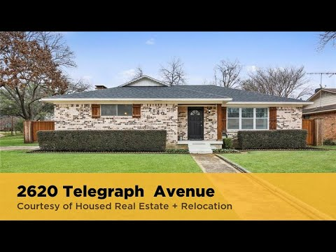 Housed Real Estate | 2620 Telegraph Avenue Dallas, Texas 75228