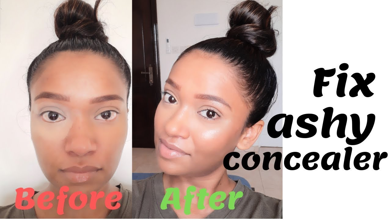 Try This Hack How To Fix And Prevent Ashy Concealer Fix Ashy Makeup Youtube