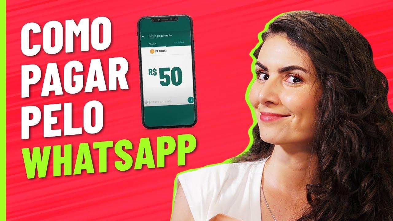 Pagar pelo WHATSAPP é SEGURO? Passo a passo para TRANSFERIR DINHEIRO pelo aplicativo!