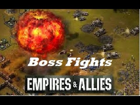 """Empires & Allies Mobile - Boss Fight """"The Wolf"""""""