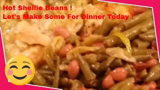 The Best Southern Style Shellie Beans