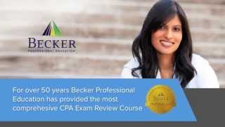 an overview of becker s cpa exam review prepare for success on the cpa exam