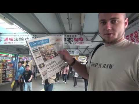 Chinese trying to control Hong Kong's citizens - Luke Holloway in HK