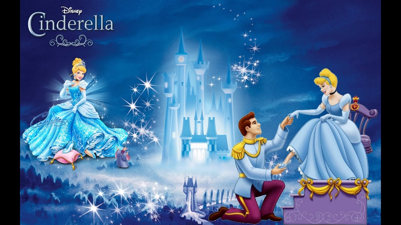 The Pretty Cinderella...The Story Of The Beautiful Disney Princess ...