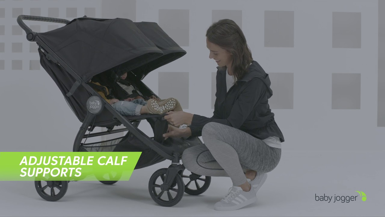 city mini® GT2 double by Baby Jogger® - YouTube