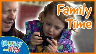 Woolly and Tig - Day out With Dad | Family Time | TV Show for Kids | Toy Spider