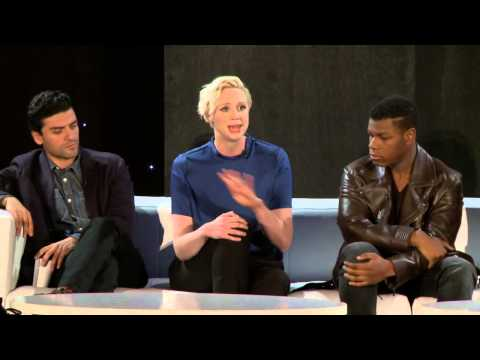 Star Wars: The Force Awakens Global Press Conference Part 2 - Harrison Ford, Gwendoline Christie