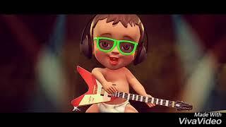 $K İle dans eden Çocuklar ile komik Remix DJ babu şarkı wale