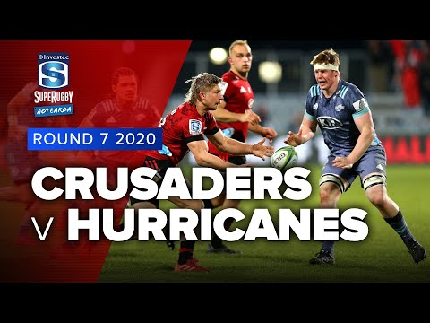 Super Rugby Aotearoa | Crusaders V Hurricanes - Rd 7 Highlights