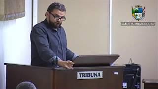 1ª Sessão Ordinária - Vereador Daniel Sotto