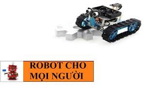 Xe robot điều khiển bằng bluetooth - Robot đá bóng