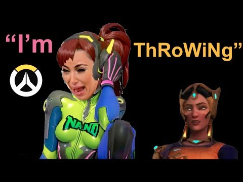 E-girl Throws my Match & then Chill Team Becomes Toxic (Overwatch) thumbnail
