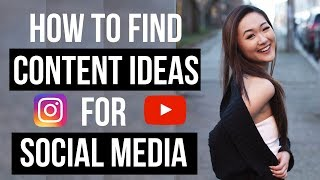 How to Find CONTENT IDEAS for Social Media (2019 TOOLS AND HACKS!)