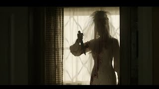 Annabelle comes home wedding dress women best scene HD