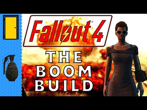 Fallout 4: Character Build Guide: The Boom Build - Grenades, Mines And Molotovs ONLY.