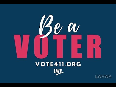 LWVTC: Be A Voter 2020