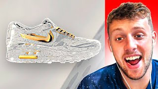 MOST EXPENSIVE SNEAKERS IN THE WORLD!