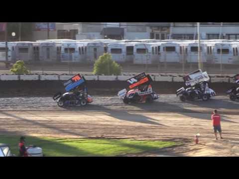 Giovanni Scelzi 7-6-16 Heat Race California Speedweek Delta Speedway Stockton