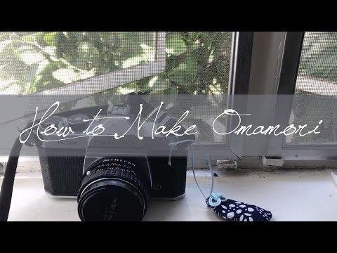 How To Make Japanese Omamori Lucky Charms DIY