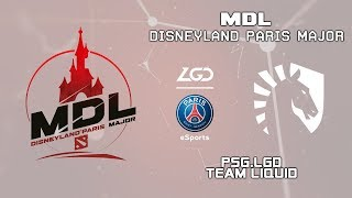 PSG.LGD vs Liquid | MDL Disneyland® Paris Major