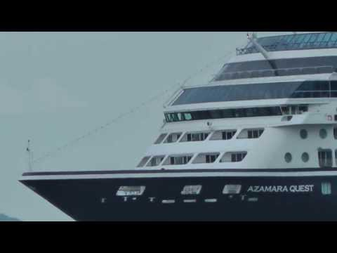 Azamara Quest leaving greenock 16/7/13