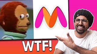 Myntra Logo Controversy made no sense 😆